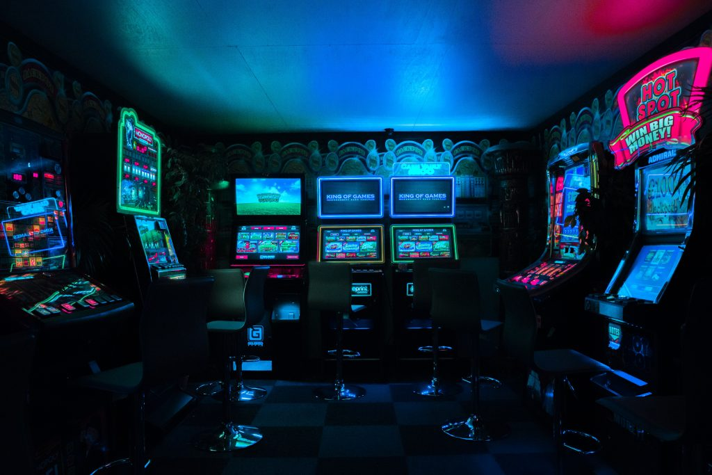 video game machines